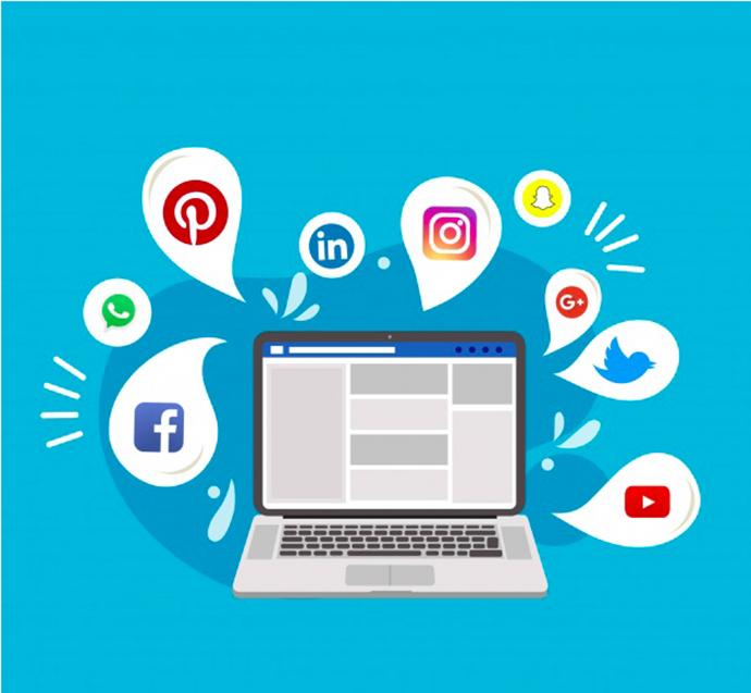 Các mạng xã hội là nơi lý tưởng để các bạn tìm kiếm khách hàng